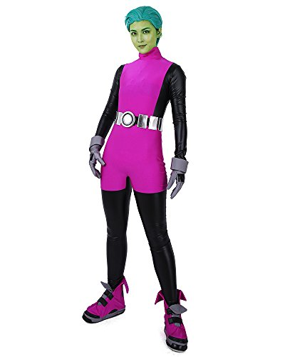 miccostumes Men's Cosplay Costume Jumpsuit (MM) Purple -