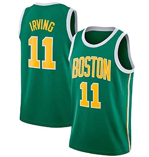 AKCHIUY Camiseta De Baloncesto,NBA Boston Celtics 11# Kyrie Irving ...