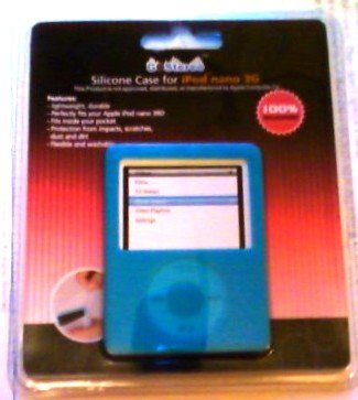 Go Stereo Silicone Case for Ipod Nano 3g Blue or Pink