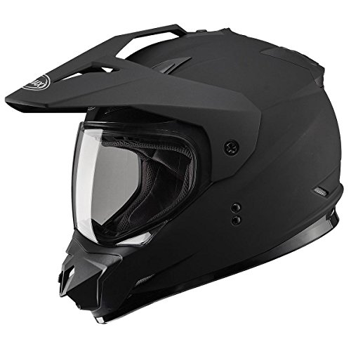 Gmax G5115077 Dual Sport Solid Helmet by Gmax (Image #1)