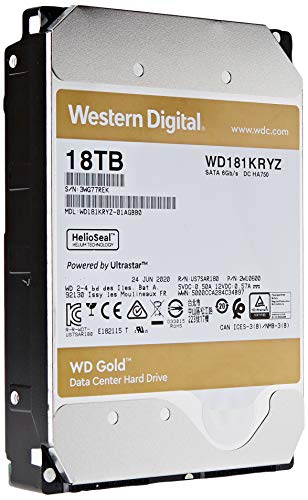 Western Digital HDD Gold 18 TB SATA 512 MB Cache 3,5 Zoll - FFP Option