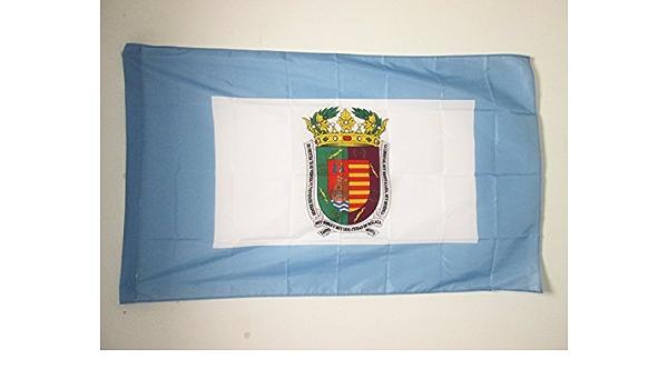AZ FLAG Bandera de la Provincia DE MÁLAGA 150x90cm para Palo - Bandera MÁLAGA EN ANDALUCÍA 90 x 150 cm: Amazon.es: Jardín