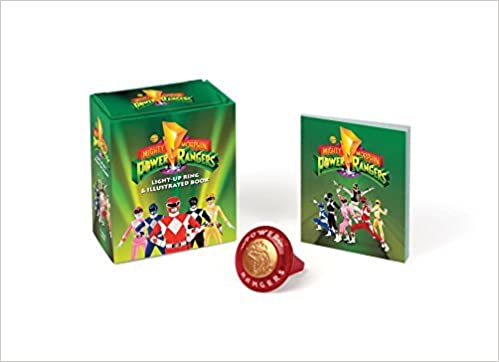 Book Mighty Morphin Power Rangers Light-Up Ring and Illustrated Book by Running Press (2016-03-29)