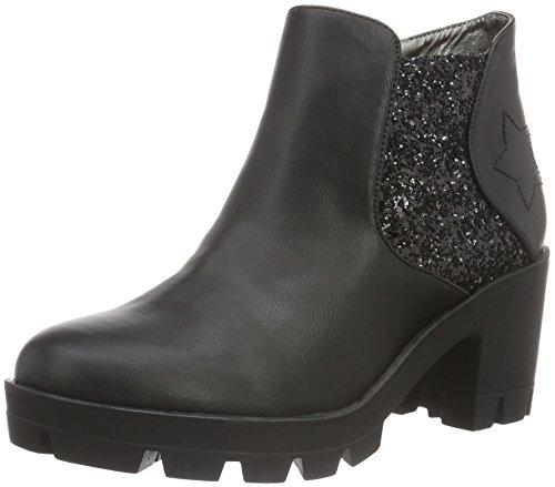 Fdil044 Boots Fiorucci Chelsea Damen Nero Schwarz nzT8fqwCxg
