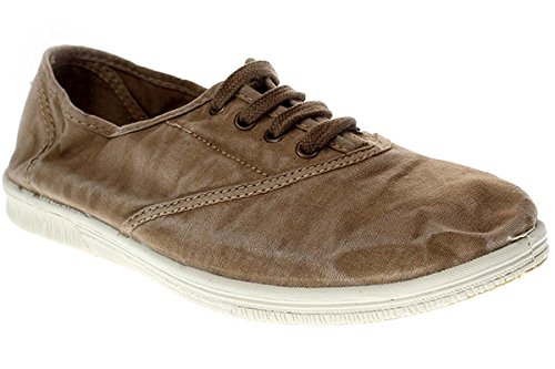 Natural World Eco 612E Damen Sneaker 623 Grau Beige