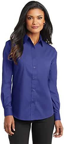 Port Authority Women's Long Sleeve Value Poplin Shirt