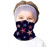 Girls Face Ski Mask Running Bandanas Sport Neck