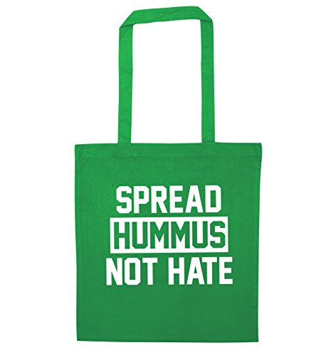 Spread tote hummus Green Flox bag Creative not hate Spread hummus fxUd4