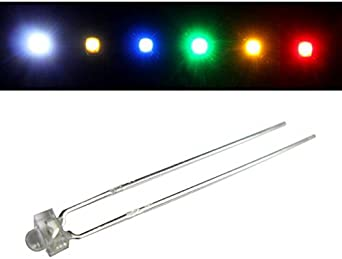50x Superhelle Leds 1 8mm Warm Weiß 3000k 20ma 3 2v 3000 4000mcd 30 Konventionelle Led Beleuchtung