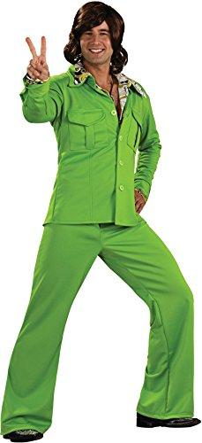 - Rubie's DisLeisure Suit, Green, Standard Costume