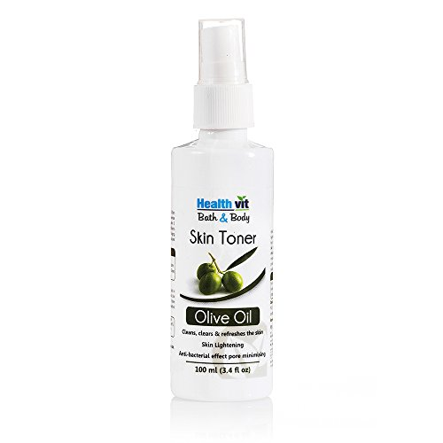 Healthvit Bath and Body Natural Olive Skin Toner, 100ml