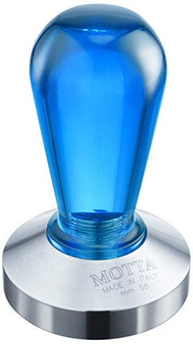 Motta Rainbow Coffee Tamper, 58mm, Blue