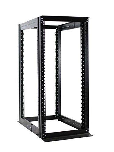 """27U 4 Post Open Frame Server Rack Enclosure 19"""" Adjustable Depth"""