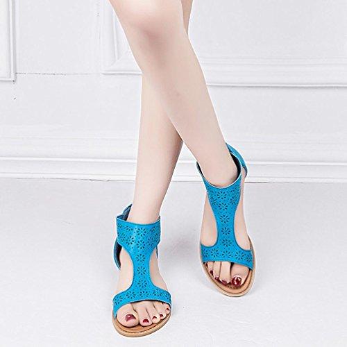 144155 Multicolor 43 Bekleidung Romana Lisa SANFASHION Schuhe EU de SANFASHION Talla Mujer Color Damen Piel xfpIPFqnq