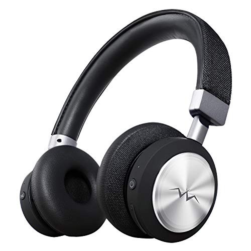 LINNER Lightweight Noise Cancelling Wireless Headphones,Best Noise Cancelling Bluetooth Headset, Wireless Noise Cancelling Headphones with Microphone NC80