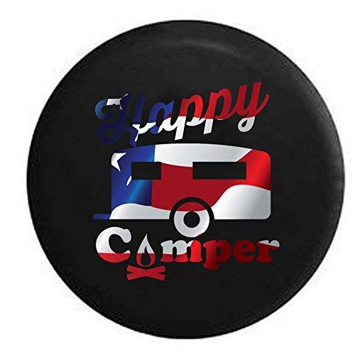 Pike Flag Happy Camper Camp Fire Rv Trailer Spare Tire