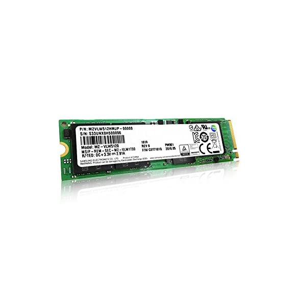 Samsung PM961 Polaris M.2-2280 PCI-e 3.0 x 4 NVMe Solid State Drive SSD ... 1 Samsung Pro PM961 (Lenovo OEM) / Interface: PCI Express Gen3 x4. Please make sure your system supports PCIe NVMe SSD. Form Factor: M.2 PCIe / Capacity: 1TB Sequential Read: Up to 3000 MB/s / Sequential Write: Up to 1150 MB/s