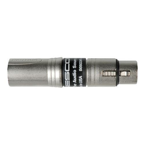sescom-ses-inline-emcm-inline-rf-filter-xlr-female-to-neutrik-emc-male-ground-lift