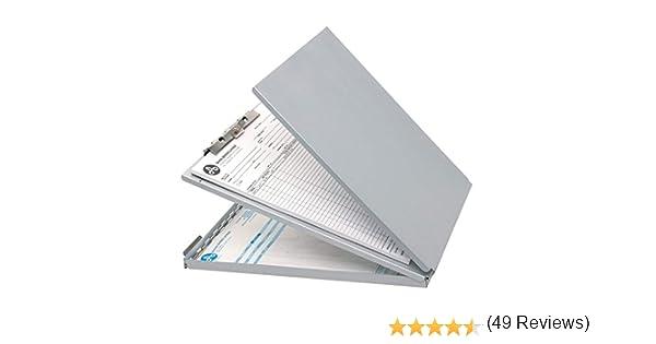 Westcott E-17002 00 - Caja portapapeles de aluminio A4: Amazon.es: Oficina y papelería