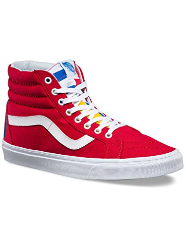 Vans Herren UA Sk8-Hi Reissue Hohe Sneakers (1966) red/blue/true whit