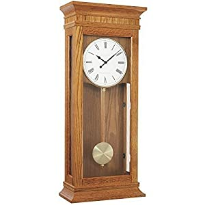 wall clock dual westminster whittington 4x4 chime by london clock co