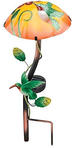 担保エキスギャラントリーRegal Art & Gift REGAL10639 Solar Mushroom Stake Hummingbird