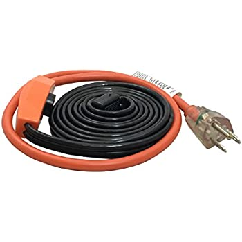 Frost King HC6A 6 Feet Automatic Electric Heat Cable Kits, Black
