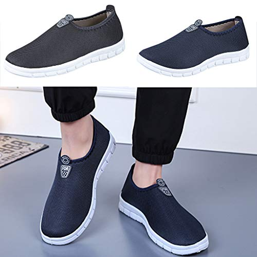 Men's Slip-On Shoes - Sport Sneakers Comfortable Footwears Loafers Shoes,2019 New by MEN SHOES BIG PROMOTION-SUNSEE (Image #5)