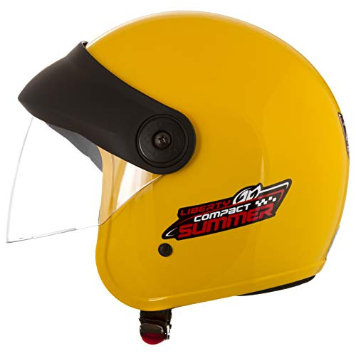 Pro Tork Capacete Liberty Compact Summer 58 Amarelo