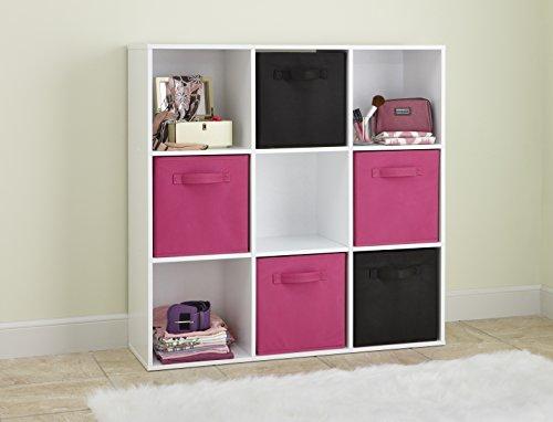 closetmaid 421 cubeicals organizer 9 cube white import it all. Black Bedroom Furniture Sets. Home Design Ideas