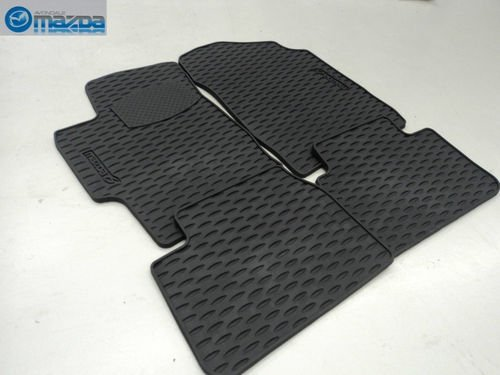 MAZDA 6 2003-2008 NEW OEM SET OF FOUR ALL WEATHER FLOOR MATS 0000-89-H36 by Mazda (Image #3)