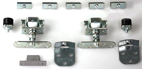 Mantion Schiebet/ürbeschlag CADETT 185A komplett f/ür Schwebet/ür bis 40kg//100cm