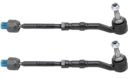 Bapmic 32106777479 Front Left or Right Inner & Outer Tie Rod Assembly for BMW E60 E61 E63 E64 (Pack of (Bmw Tie Rod Assembly)