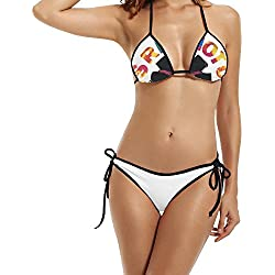 Red Hot Chili Peppers Blood Sugar Sex Magik Tour Womens Bikini Swimsuits