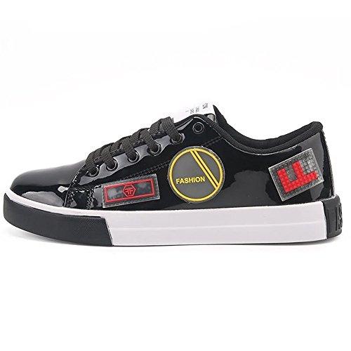 Uomo Shufang shoes Shufang Nero Mocassini shoes qTII5awy