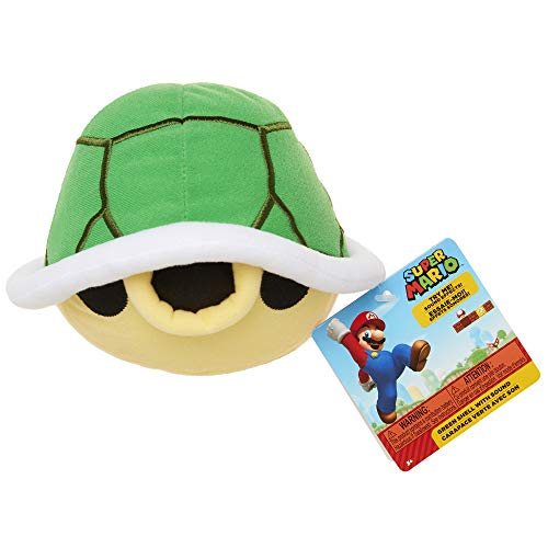 Nintendo SFX Plush - Green Turtle Shell (Blue Turtle Shell Mario)