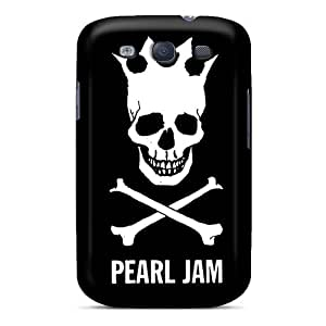 Protector Hard Phone Covers For Samsung Galaxy S3 (wnf2528nMYN) Support Personal Customs Attractive Pearl Jam Series