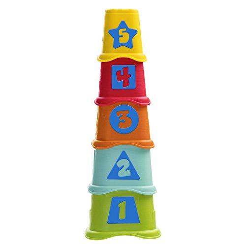 Torre De Copos 2 Em 1, Chicco, Multicolorido
