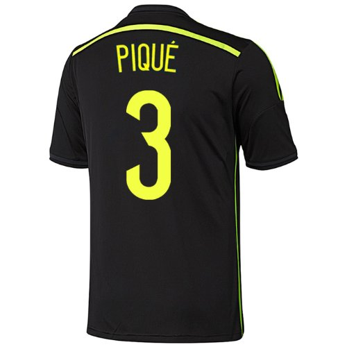 Adidas PIQUE #3 Spain Away Jersey World Cup 2014 YOUTH. (YXL)