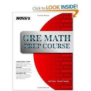Read Online GRE Math Prep Course (Nova's GRE Prep Course) [Perfect Paperback] ebook