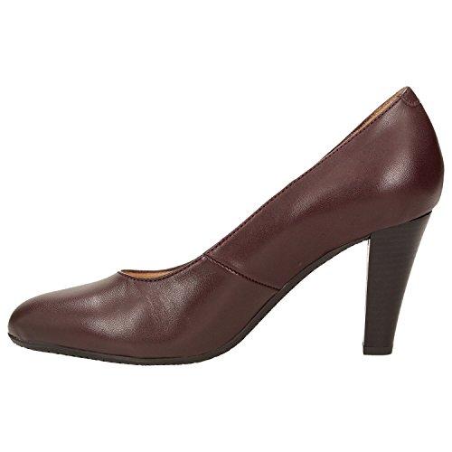 2096e2da4ea63 Vestir 215 Zapatos Zweigut De Smuck Piel Mujer Para Borgoña wqIfPpf