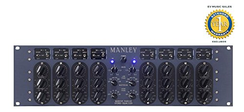 Manley Massive Passive Stereo Tube EQ Mastering Version with 1 Year Free Extended Warranty