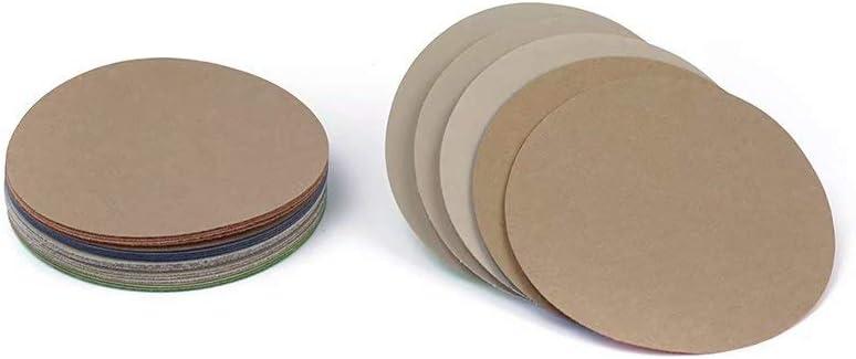 50 Teile//Set Schleifscheibe Nass-//Trocken Sandpapier Künstlich Stein Polierend