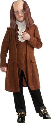 Benjamin Franklin Child Costume - Medium -