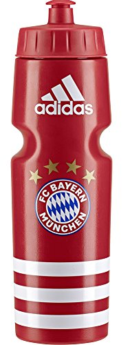 adidas 2018-2019 Bayern Munich Water Bottle (Red) (Bayern Munchen Soccer)