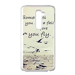 sometimes you gotta fall before you fly Phone Case for LG G2