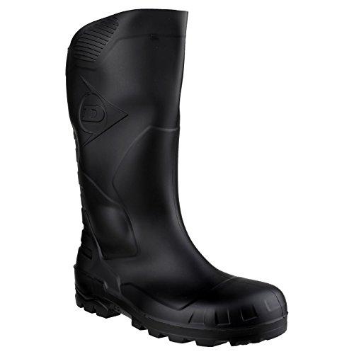 Dunlop Devon Unisex de goma/seguridad para botas de agua negro - negro