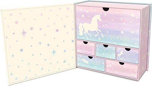 Lady Jayne Baby's First Memory Keepsake Box (Magical Memories Unicorn) - Unicorn Keepsake