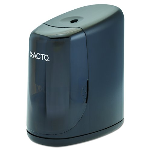ELMERS X-Acto Standup Electric Sharpener - Black (Model 1900 Electric Pencil Sharpener)