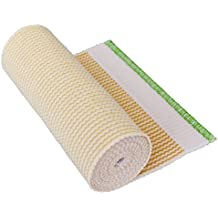 """GT® 6"""" Cotton Elastic Bandage with Hook and Loop Closure on both ends, 6 inches wide x (13 to 15 ft. when stretched)"""